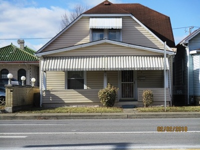 Huntington WV Single Family Home For Sale: $34,900