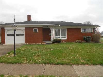Ironton Single Family Home For Sale: 1507 Charlotte
