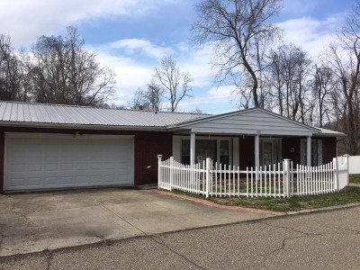 Ironton Single Family Home For Sale: 2018 Woodland Drive