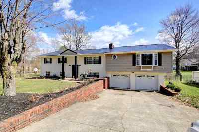 Hurricane Single Family Home For Sale: 1031 Mt. Vernon Road