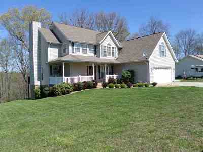 Proctorville Single Family Home For Sale: 238 Private Dr. 2555 Co Rd 70
