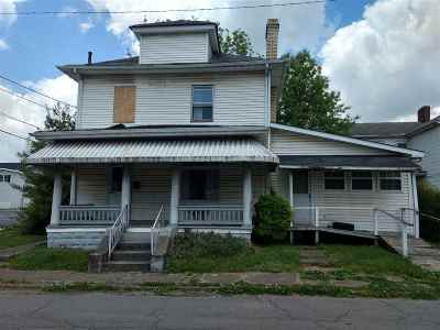 Ironton Single Family Home For Sale: 615 Jefferson Street