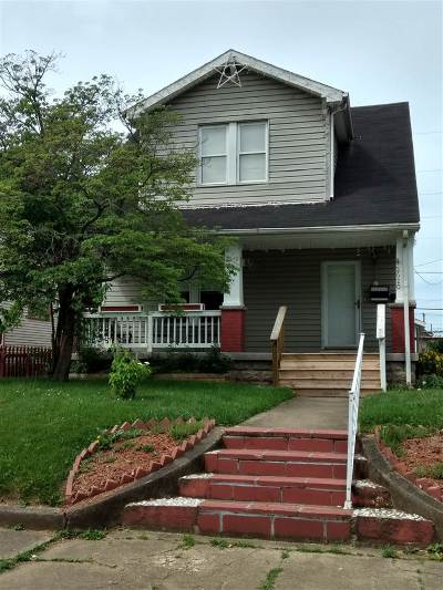 Ironton Single Family Home For Sale: 2620 So 5th Street