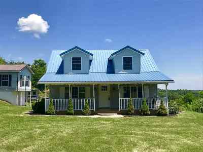 Culloden Single Family Home For Sale: 1099 Signal Road