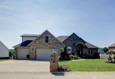 Hurricane Single Family Home For Sale: 4028 Ridgeview Lane