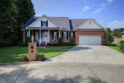 Hurricane Single Family Home For Sale: 811 Forestbrook Drive