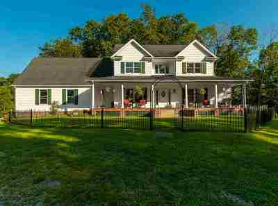 Barboursville Single Family Home For Sale: 1672 Martha Road