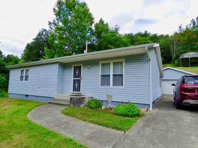 Ironton Single Family Home For Sale: 1625 Ora Richey Road