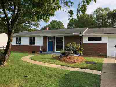 Barboursville Single Family Home For Sale: 212 Bartow Dr