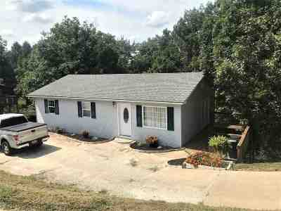 Huntington Single Family Home For Sale: 4631 Camp Branch Rd