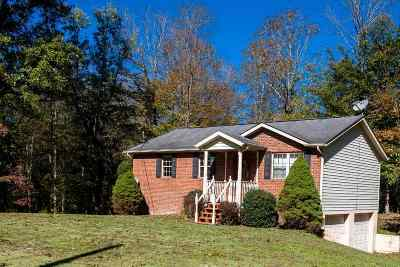 Barboursville Single Family Home For Sale: 3230 Booten Creek Road #b