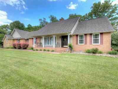 Barboursville Single Family Home For Sale: 1019 Big Bend Road