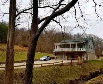 Barboursville Single Family Home For Sale: 6170 Edens Branch
