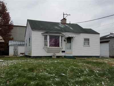Huntington WV Single Family Home For Sale: $18,500