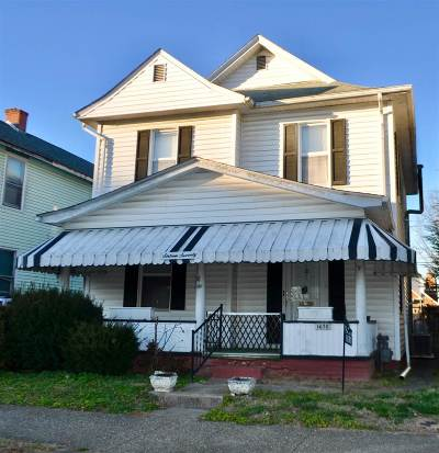 Huntington WV Single Family Home For Sale: $39,900