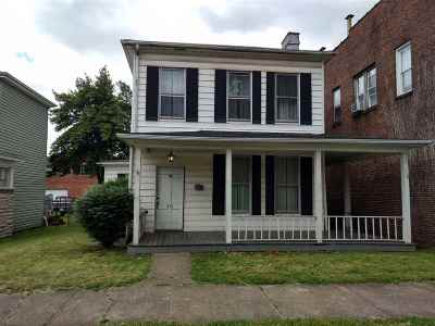 Ironton Single Family Home For Sale: 412 S 4th Street
