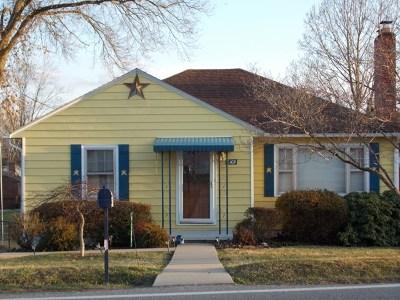 Huntington Single Family Home For Sale: 6105 East Pea Ridge Road