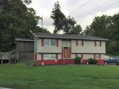 Milton Single Family Home For Sale: 1096 Newmans Branch