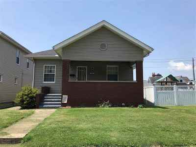 Ironton Single Family Home For Sale: 1616 S 7th Street