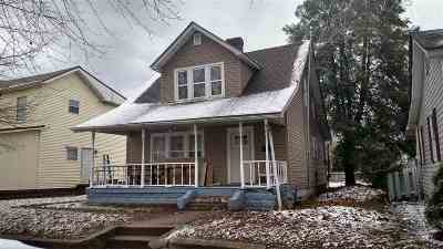 Ironton Single Family Home For Sale: 1107 N 2nd Street
