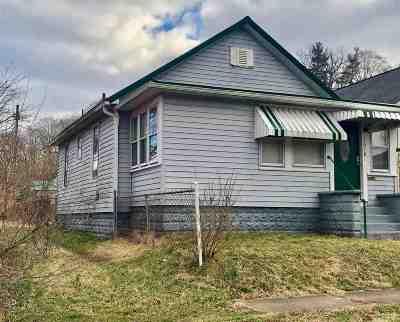 Huntington WV Single Family Home For Sale: $36,000