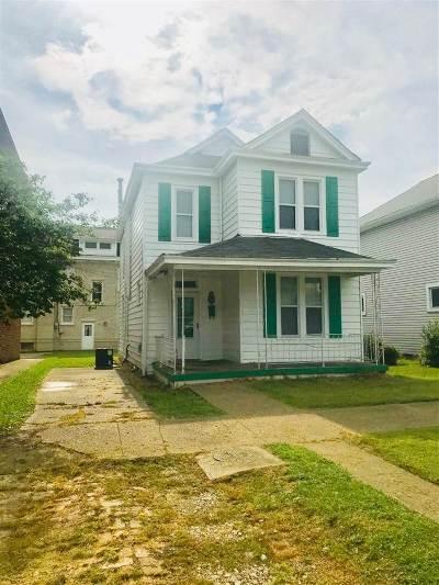 Huntington WV Single Family Home For Sale: $68,000