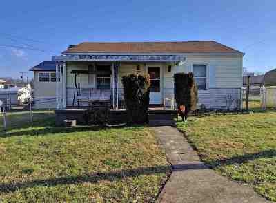 Huntington WV Single Family Home For Sale: $45,000