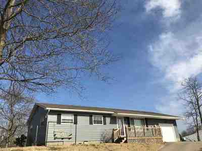 Ironton Single Family Home For Sale: 34 Private Drive 2398