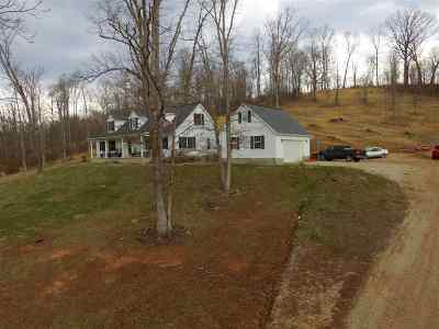 Lawrence County Single Family Home For Sale: 382 Cty Rd 58