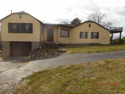 Huntington Single Family Home For Sale: 5783 Hubbards Branch Road