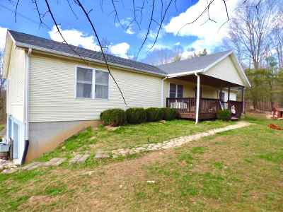 Ironton Single Family Home For Sale: 717 Coal Bank Hollow