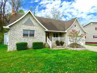 Ironton Single Family Home For Sale: 1820 Campbell Drive