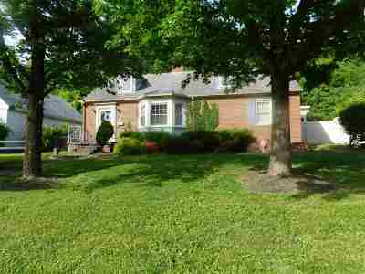 Ironton Single Family Home For Sale: 2013 Liberty Avenue