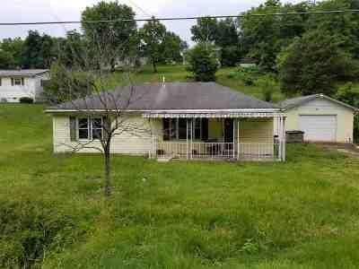 Kenova Single Family Home For Sale: 266 Barger Hill Rd