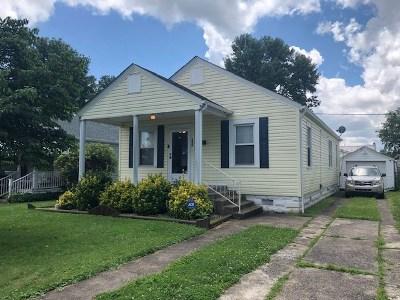 Huntington WV Single Family Home For Sale: $112,500