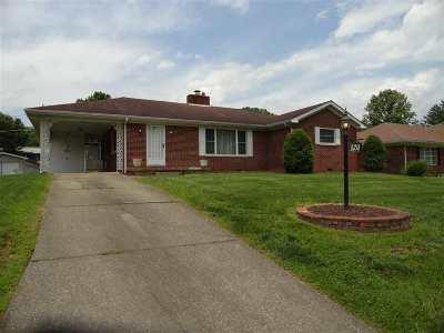 Huntington WV Single Family Home For Sale: $129,900