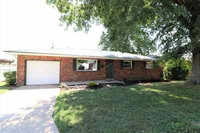 Ironton Single Family Home For Sale: 1722 Waldo Drive
