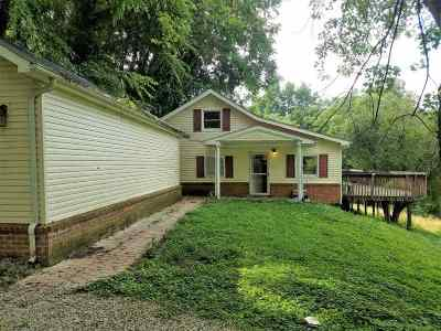 Chesapeake Single Family Home For Sale: 1623 County Rd 124