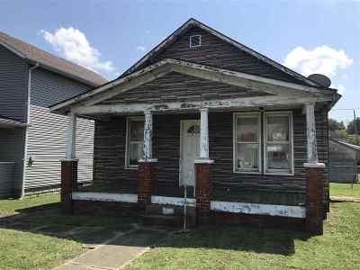 Kenova Single Family Home For Sale: 2012 Chestnut Street