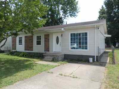Proctorville Single Family Home For Sale: 207 Jones Street