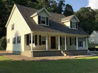 Huntington Single Family Home For Sale: 916 Teel Branch Road