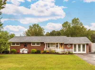 Milton Single Family Home For Sale: 2249 Kirby Road