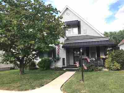 Ironton Single Family Home For Sale: 1809 S 4th Street