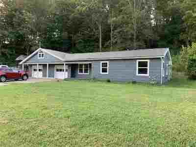 Barboursville Single Family Home For Sale: 764 Fudges Creek Road