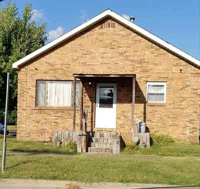 Ironton Single Family Home For Sale: 2001 South 8th Street