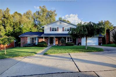 Cross Lanes Single Family Home For Sale: 5324 Bentbrook Road