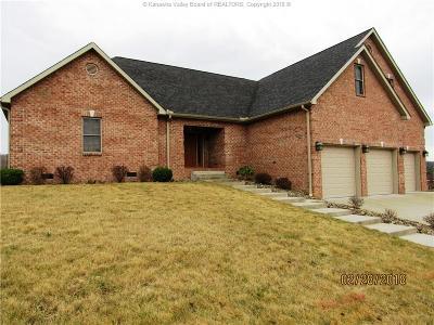 Scott Depot Single Family Home For Sale: 266 Angela Drive