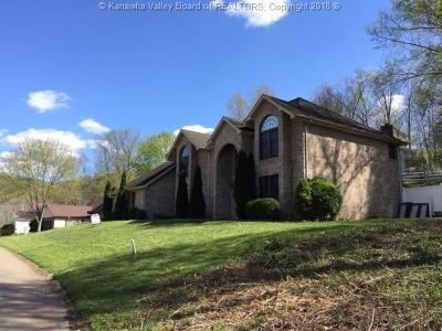 Cross Lanes Single Family Home For Sale: 5140 Villa Pike