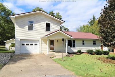 Cross Lanes Single Family Home For Sale: 114 Oakwood Road