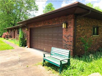 Cross Lanes Single Family Home For Sale: 4712 W. Washington Street